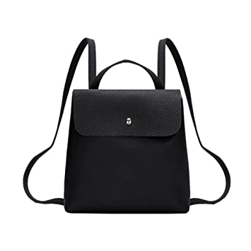 f009724ad6c9 Amazon.com  Mini Leather Backpack for Women