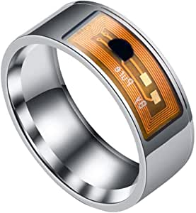 hevare Stainless Steel Smart Ring Wearing Jewelry NFC Label Mobile Phone Accessory Rings