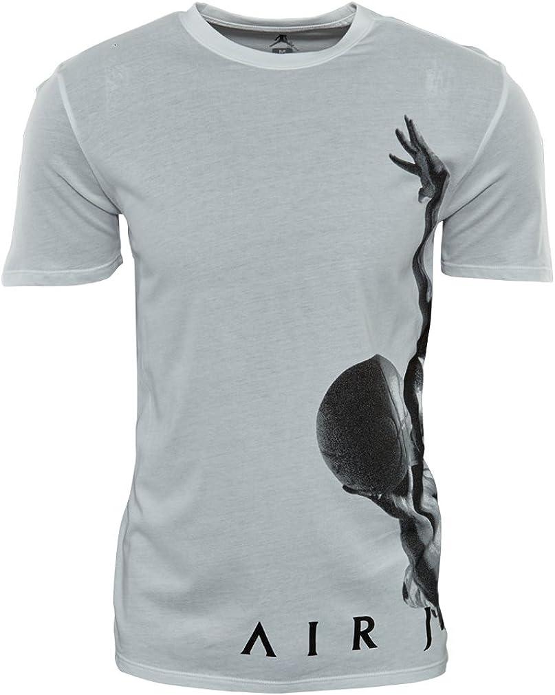 NIKE Michael Jordan Flying Dreams tee Camiseta de Manga Corta, Hombre, Blanco/Negro, M: Amazon.es: Ropa y accesorios