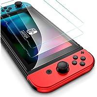 Flysee Protector de Pantalla para Nintendo Switch, [2-Unidades]