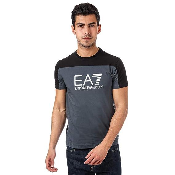 37923a3f0b071f Emporio Armani Mens EA7 Mens Train Tritonal T-Shirt in Charcoal - L