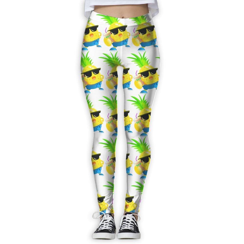 Pineapple Juicy Sunglass Women Skinny Leggings