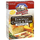 european bread flour - Hodgson Mill European Cheese & Herb Bread Mix 16-Ounce Boxes (Pack of 6), Bread Mix for Bread Machines or Oven Baked Bread, Yeast Included