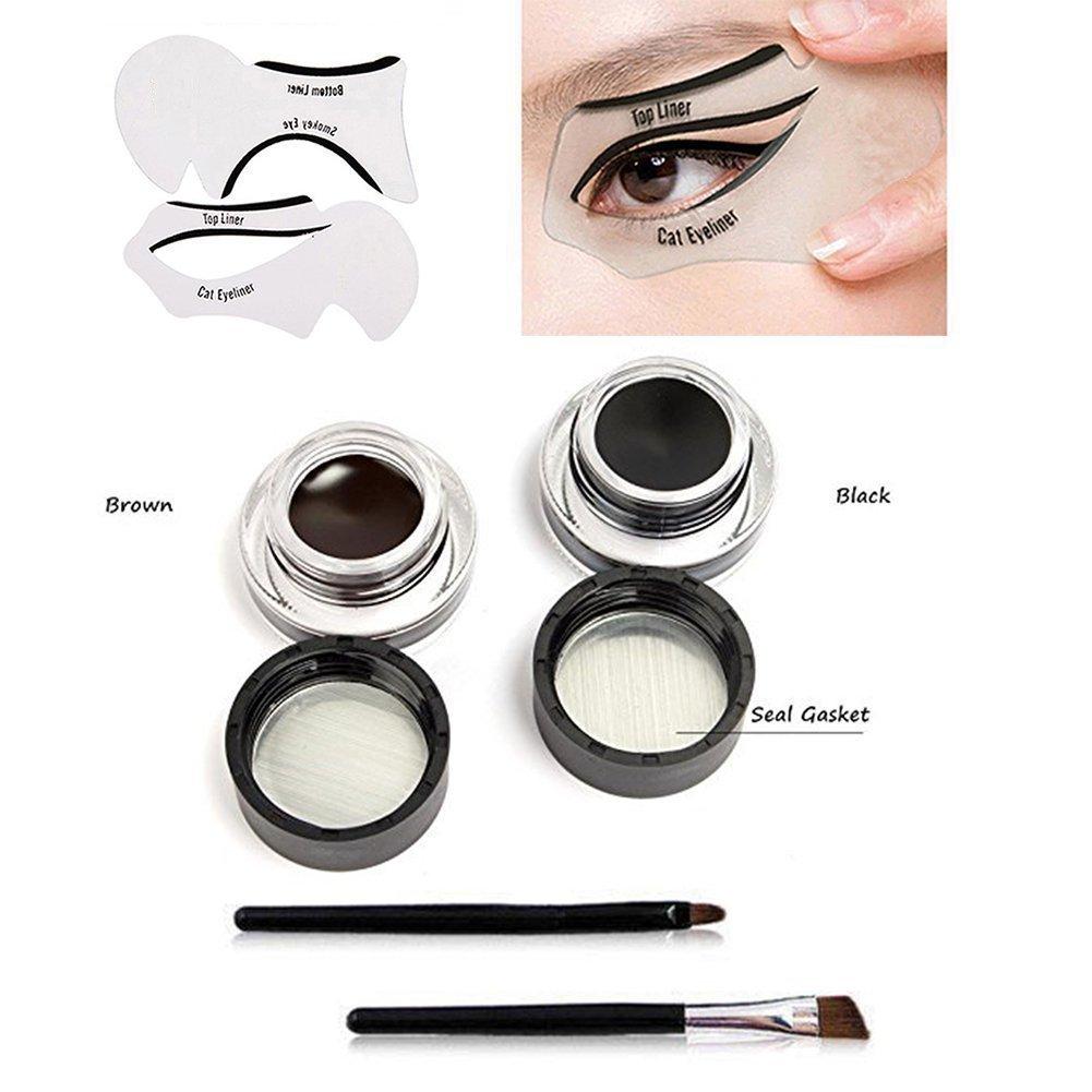2 plantillas para maquillaje: Amazon.es: Belleza