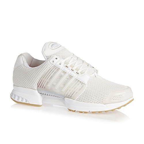 adidas Zapatillas de Tela Para Hombre Blanco Blanco: adidas