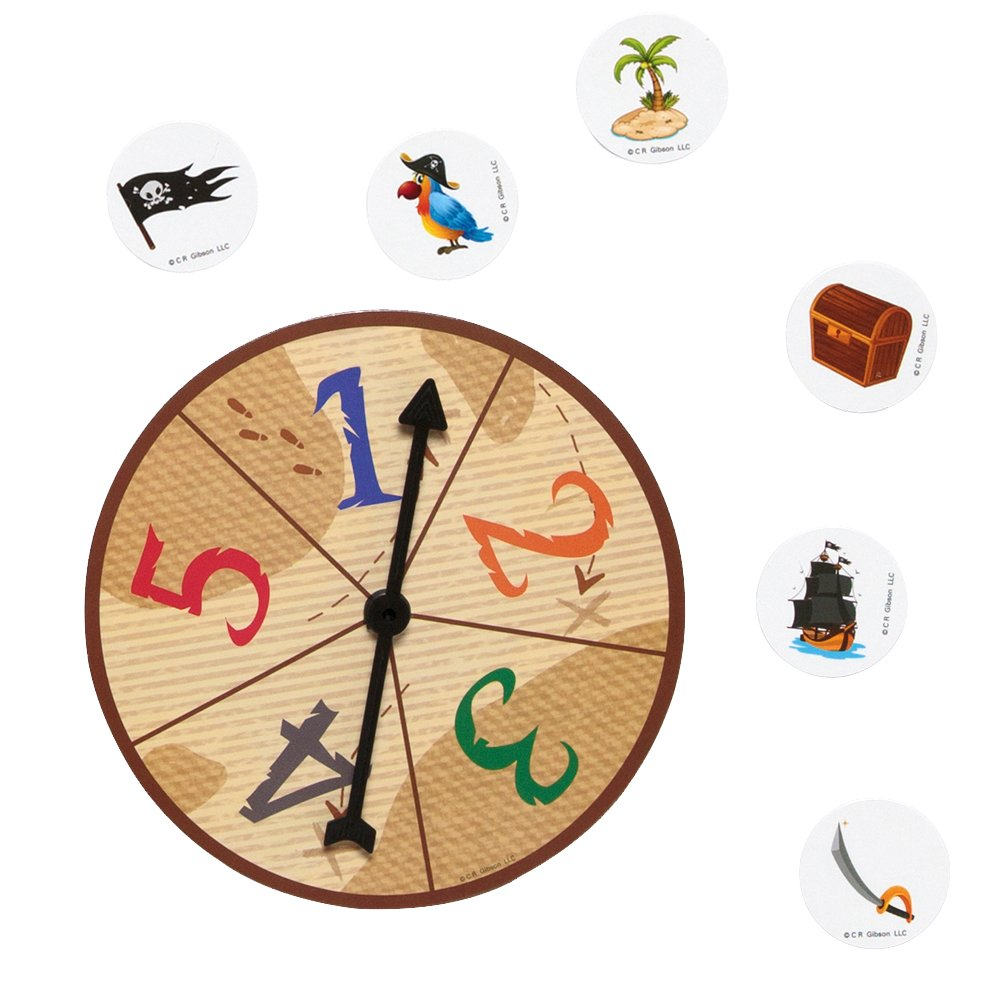 C.R Gibson Animal Zoo-Rific Educational Board Game for Kids Eureka BKBG-18436