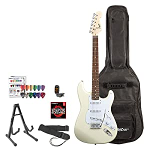 Squier by Fender Bullet Strat Beginner Electric Guitar- Best Electric Guitars