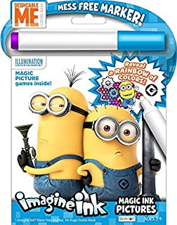despicable me magic ink activity book - Magic Marker Coloring Book