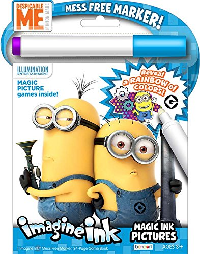 Despicable Me Magic Ink Activity Book