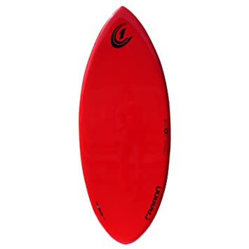 Circle One – Fibra de Carbono tabla de skimboard 56 inch, rojo
