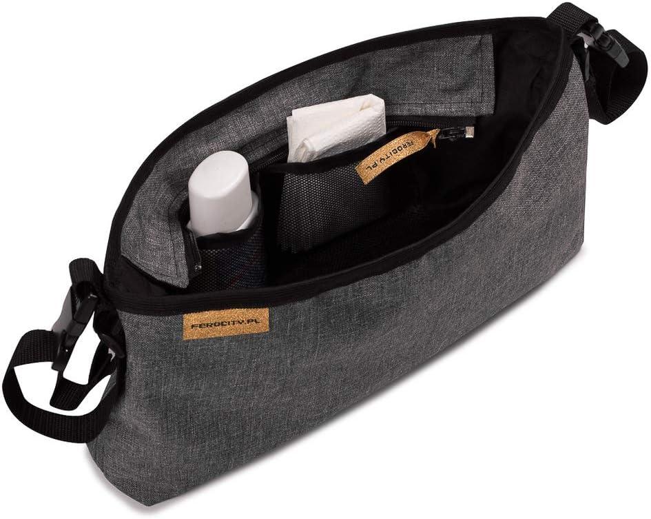 Ganchos Carrito Beb/é Pack de 1 universal para colgar pa/ñales bolsas y juguetes color negro 075