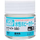 水性ホビーカラー H1 ホワイト (白)