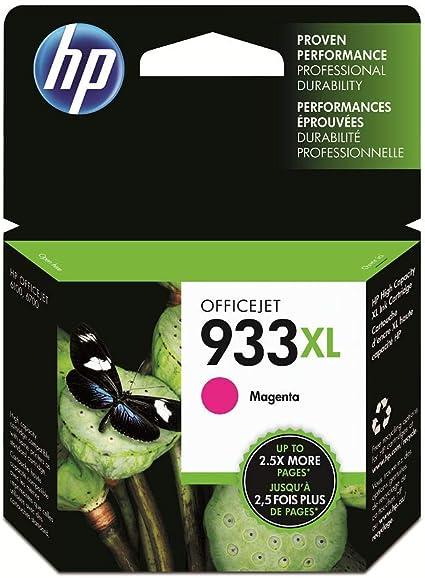 Oferta amazon: HP 933XL CN055AE, Magenta, Cartucho de Tinta Alta Capacidad Original, compatible con impresoras de inyección de tinta HP OfficeJet 6100, 6600, 6700, 7110, 7510, 7610, 7612