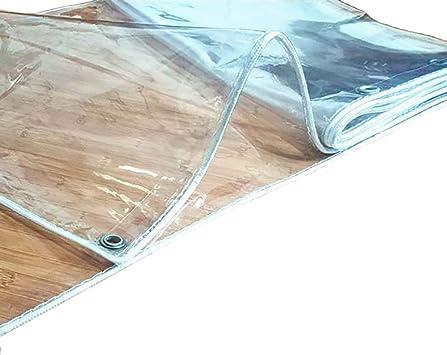 Lonas Claro Impermeable Lona - Soft Transparentes Lonas con Los Ojales, Jardín Patio Piscina Cubierta para Mascotas, Grosor de 0,3 Mm (Size : 2×2m): Amazon.es: Bricolaje y herramientas