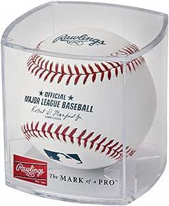 Official Rawlings UV Resistent Baseball// Tennis Ball Display Case