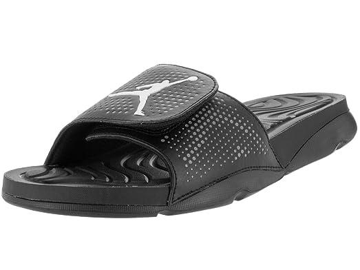 Nike Jordan Hydro 5 Infant/Toddler Slide Shoes Black/Cool Grey/White 1186