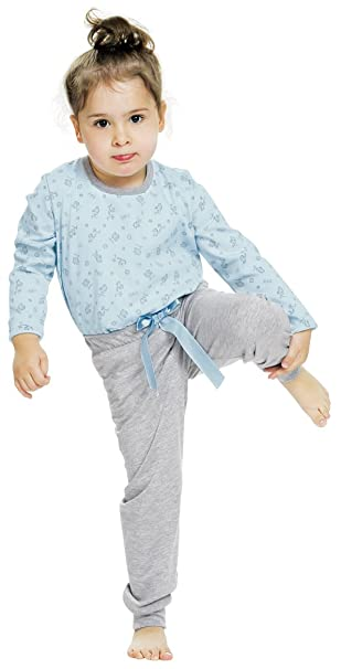 Italian Fashion IF Pijamas para Niña Hana 0223 (Azul, 134-140)