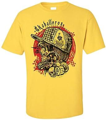 PAPAYANA - SKABALLEROS - Herren T-Shirt - SKA PUNK PHENOMENAI MUSIC CONCERT  ROCK SKULL