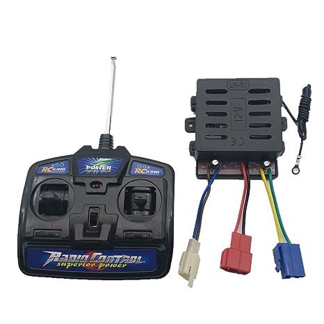 Amazon com: WELLYE Children's Electric Car 27mhz Universal Remote