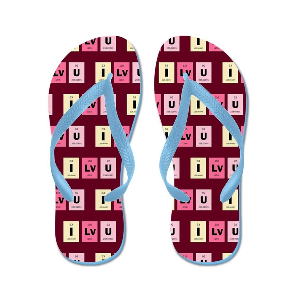 Lplpol Geek I Love You Flip Flops for Kids and Adult Unisex Beach Sandals Pool Shoes Party Slippers