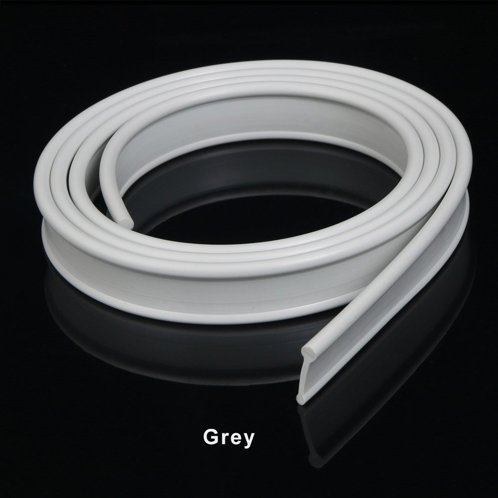ELEGANT Grey Soft Rubber Shower Door Seal for Folding Bath Screen 1200mm sunny showers