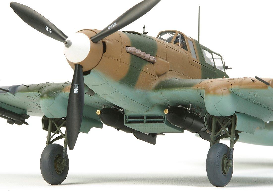 TAMIYA America, Inc 1/48 Ilyushin IL-2 Shturmovik Aircraft, TAM61113 7