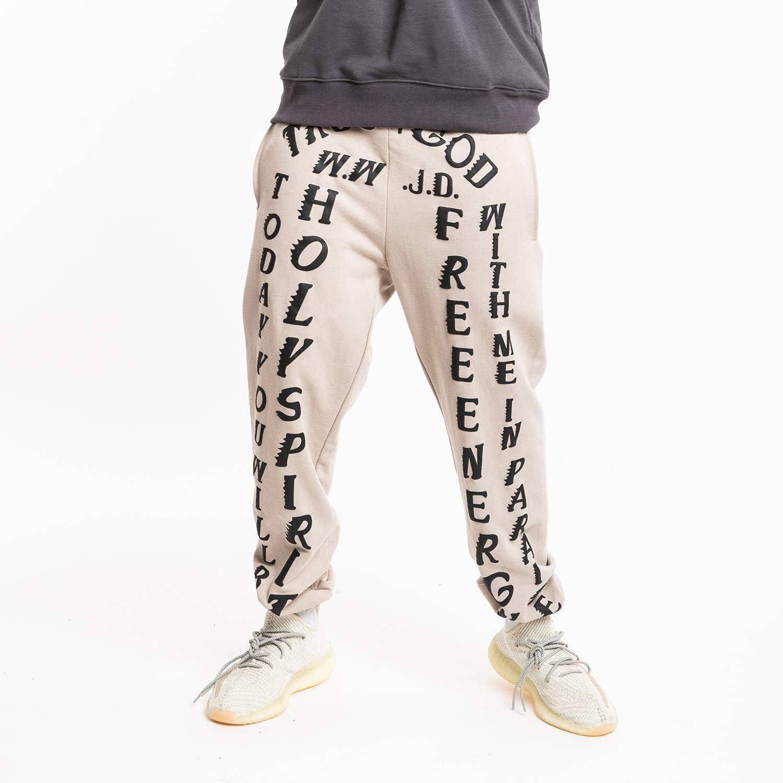 NAGRI Kanye West Kardashian Holy Spirit Trousers Lounge Sweatpants