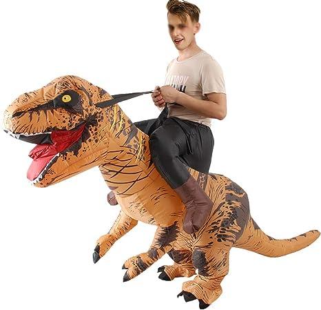 XXLLQ Disfraz de Dinosaurio Disfraz Adulto para la mayoría los ...