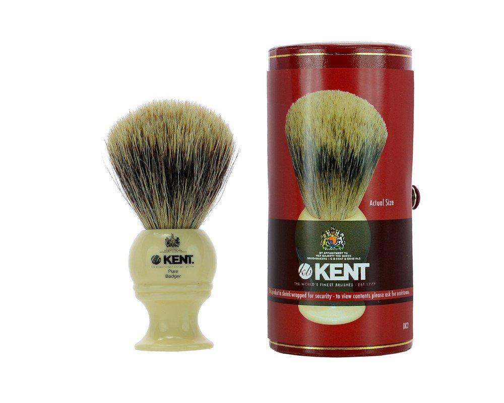 Kent Brushes Brocha de Afeitar Mediana de Tejón Blanco - 170 gr PADISA VARELL BK2