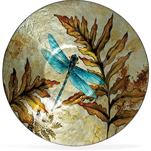 AngelStar 19162 Dragonfly Spirit Round Plate, 12-1/2