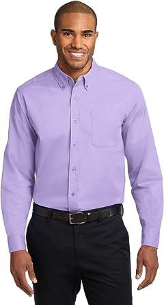 Port Authority Camisa de manga larga para hombre de fácil cuidado: Amazon.es: Ropa y accesorios