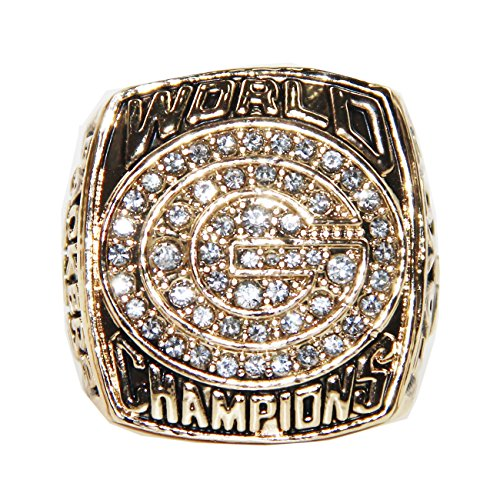 RongJ- store 1996 Green Bay Packers American Football Championship Ring -