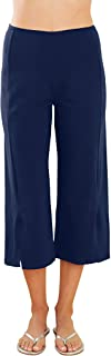 product image for Blue Canoe Organic Cotton and Bamboo Crop Pant with Slit