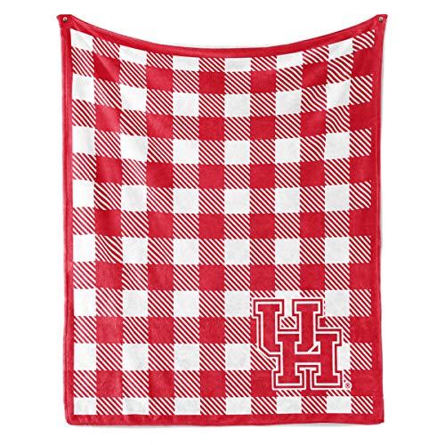 (Official NCAA University of Houston Cougars - Fleece Blanket -)