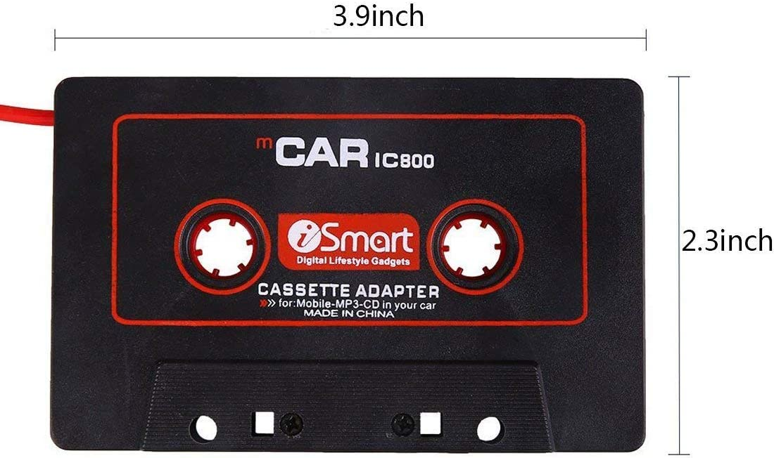 QUMOX Car Audio Tape Cassette Music to Jack AUX for iPod MP3 iPhone 3.5mm Connector UK