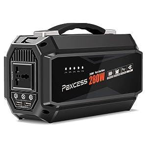 Paxcess 250Wh AC出力280W ポータブル電源