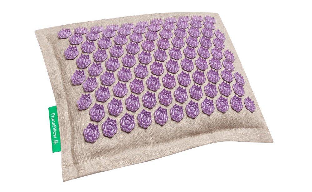 Pranapillow Massage / Acupressure Pillow - Natural / Lavender