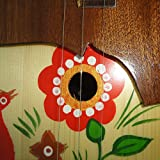New Russian / Ukrainian Balalaika 3 Three String Prima. Hand Painted! Wood!! 52