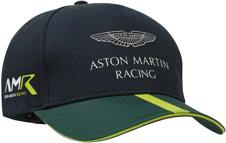 Aston Martin Racing Team Cap Vert Citron//Bleu Marine 2019 adulte
