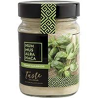 Taste Shukran, Hummus para untar y dipear (Albahaca)