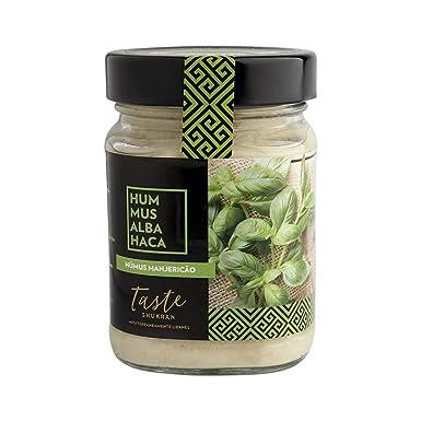 Taste Shukran, Hummus para untar y dipear (Albahaca) - 6 de 225 gr