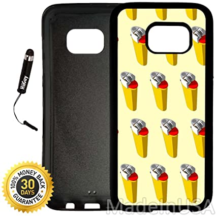 new arrivals c1143 06ac7 Amazon.com: Custom Galaxy S7 EDGE Case (Cool Lighter Pattern) Edge ...
