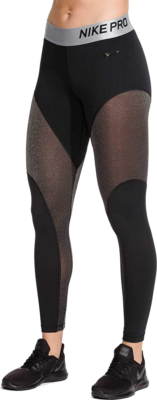5a59acfa2b Amazon.com: NIKE Women's Pro Warm 7/8 Training Tights: Clothing