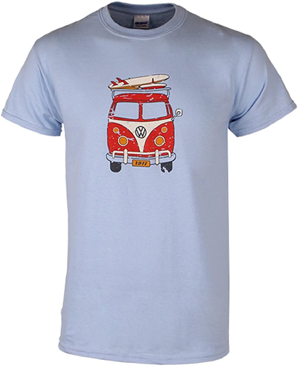 Volkswagen Genuine VW Driver Gear Surfin' Bus T-Shirt Tee