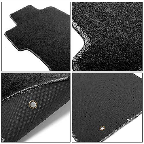 Honda Accessories 08P15-SVA-120A Gray Floor Mat for Select Civic Models