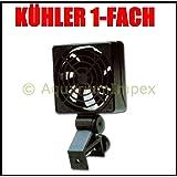 Boyu climática 1 XL Acuarios enfriador Ventilador Enfriador de 1 Compartimento 4 W hasta 100L