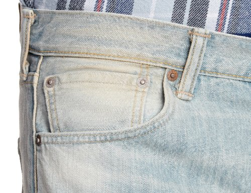 Customized Jeans amp; 501 Blue Tapered Levis Uomo z7U51IwqUx