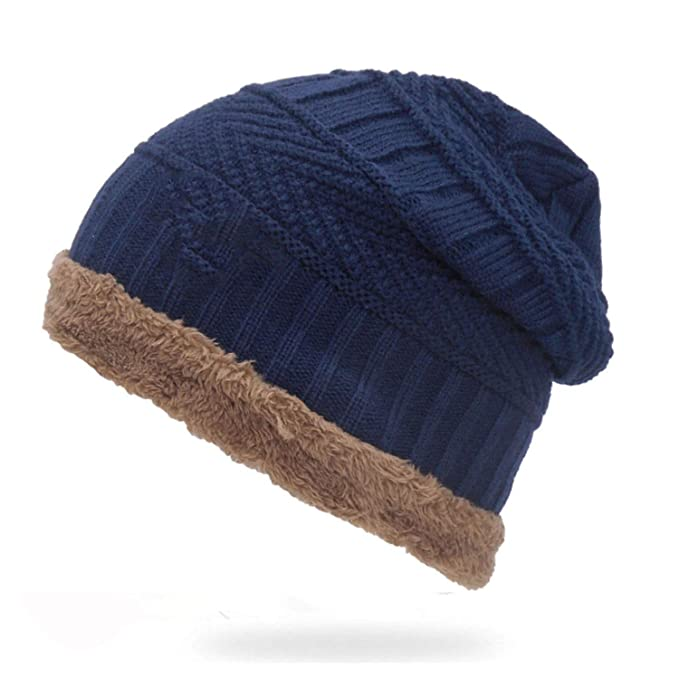 fb6722d6ae6e7 Image Unavailable. Image not available for. Color  Heroic spirit Mens  Winter Hat Casual Brand Knitted Ladies Hats Beanies ...