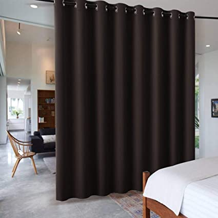 RYB HOME Blackout Office Room Divider Energy Efficient Furniture Protected  Large Panel For Wall Space, Easy Hang On Rods Or With Hooks For Dressing  Room, ...