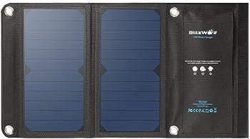 BlitzWolf Solar Panel Phone Charger